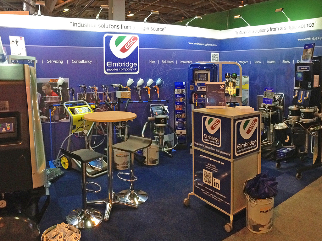 Elmbridge Supplies Exhibition Stand