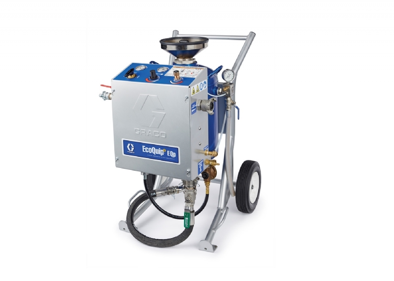 Elmbridge News | Introducing The EcoQuip 2EQp - Graco's Latest Piece of Vapour Abrasive Blasting Equipment