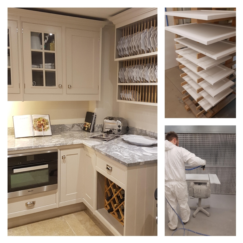 Elmbridge News | Creating the Perfect Handmade Kitchen Finish