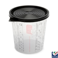 Disposable Plastic Paint Mixing Cups 700ml