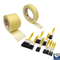Delux Masking Tape (FREE STANLEY BRUSH SET PER BOX)