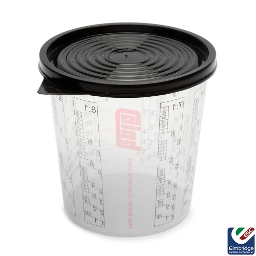 Disposable Plastic Paint Mixing Cups - pack of 50