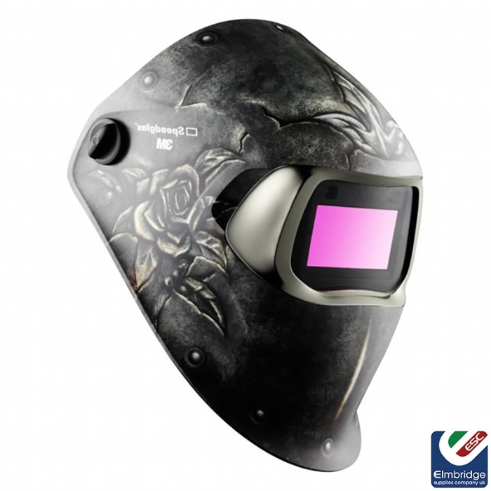 3M Speedglas 100 Series Welding Helmets   Steel Rose