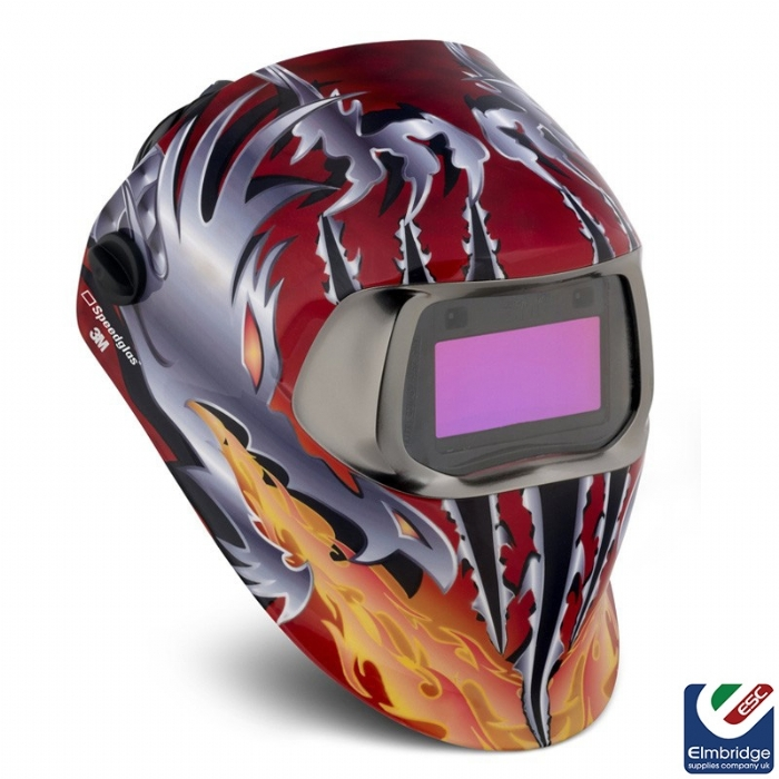 3M Speedglas 100 Series Welding Helmets   Razor Dragon