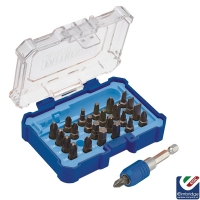 Faithfull Quick-Change Screwdriver 25 Piece Bit Set