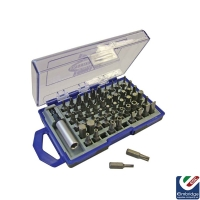 Faithfull 61 Piece Screwdriver Bit Set