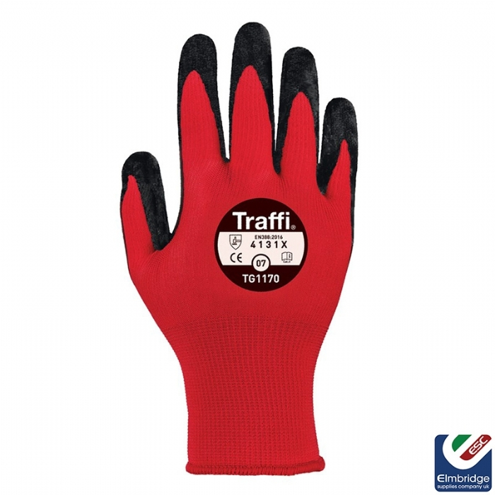 TraffiGlove TG1170 Nitric 1 Red Safety Gloves