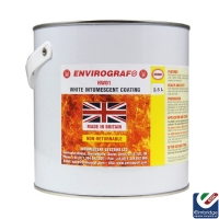 Envirograf HW01 White Intumescent Coating