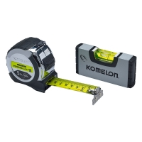 PowerBlade™ II Pocket Tape 5m/16ft (Width 27mm) with Mini Level