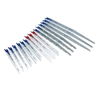 Faithfull Sabre Saw Blade Set, 15 Piece