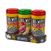 Big Wipes (Triple Pack + 25% Extra Free)