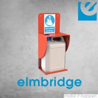 Wall Mounted 5 Litre Sanitiser Bracket