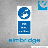Use Hand Sanitiser Labels