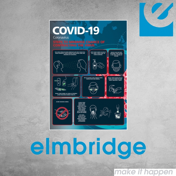Steps To Minimise Covid-19 Sign