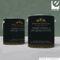 HV'Art Lacquer Paint Decorative Canvas