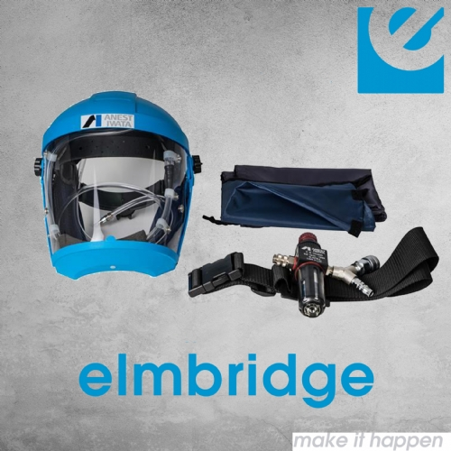 Anest Iwata 2020 Full Face Airfed Mask Kit
