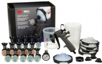 3M Performance Gravity Spray Gun System - 2 Kits/Case