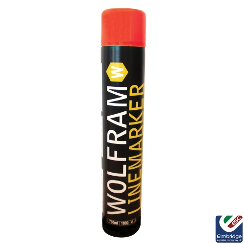 Wolfram Linemarker Aerosols - Various Colours Available Red