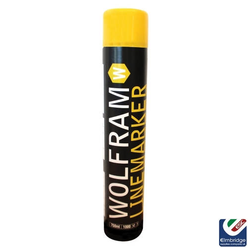 Wolfram Linemarker Aerosols - Various Colours Available Yellow