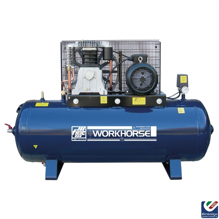 Workhorse Electric Belt Driven Air Compressor