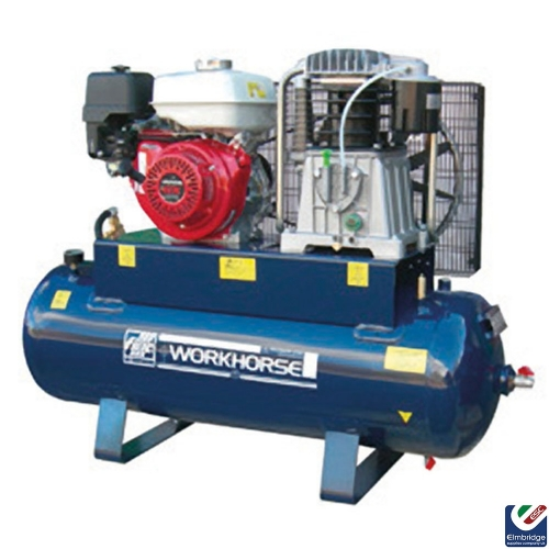 Workhorse Petrol Powered Belt Driven Air Compressors