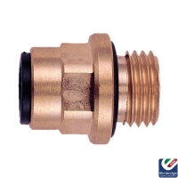 Brass Straight Adapter