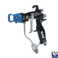 Graco G40 Air Assisted Airless Spray Gun with 11/40 GG4 Flat Tip (24C855)