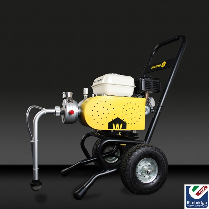Wolfram MaxiKote 4500 Engine Driven Petrol Airless Sprayer Outfit