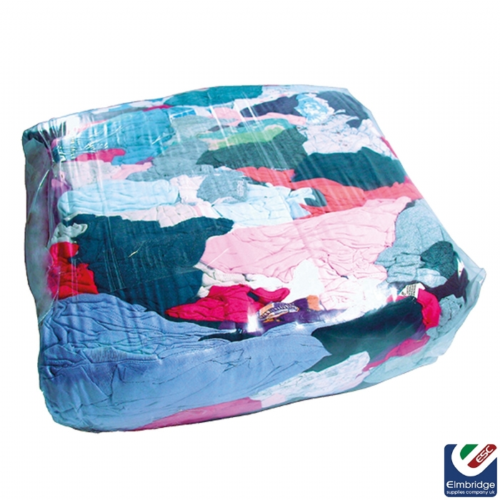 Essential Coloured Mixed Rags (Free Trade Wipes with Orders of 2 or More!)