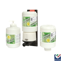 Hanzl Advanced Soy Hand Cleaner - FREE DISPENSER WITH 4 BOTTLES