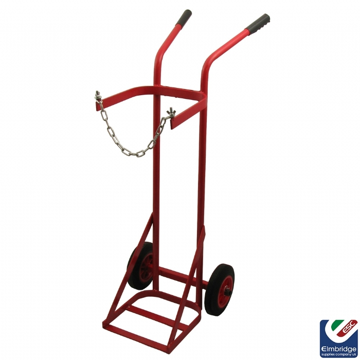 Single Oxy/Acetylene Midi Cylinder Trolley