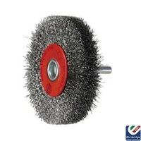 Circular Rotary Crimped Wire Brush