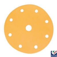 Mirka Gold 150mm 9 Holes Velcro Grip Sanding Discs