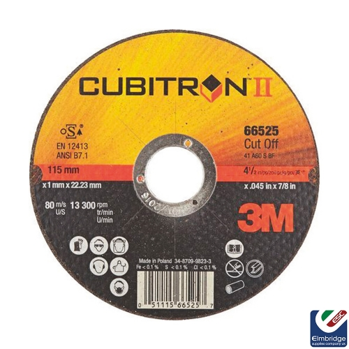 3M™ Cubitron™ II Cut-Off Wheels