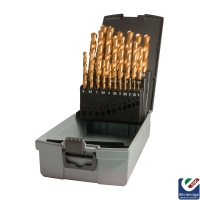 HSS TiN Coated Drill Bit Set