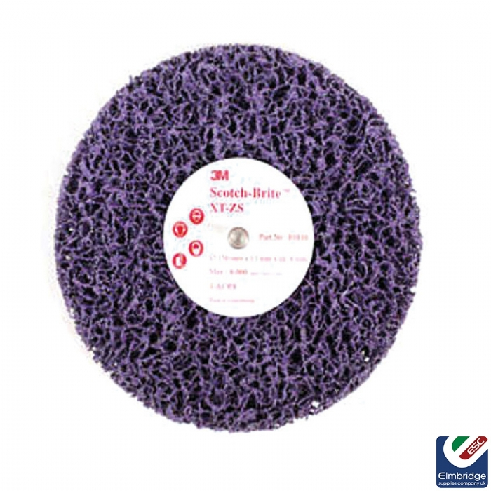 3M Scotch-Brite™ XT-ZS, Purple Clean and Strip Discs