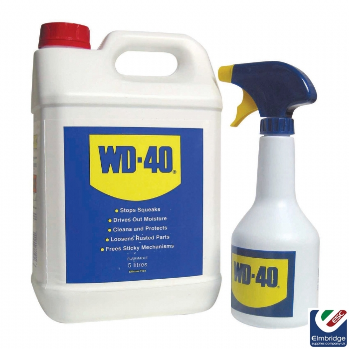 WD40  5ltr Can C/W Applicator