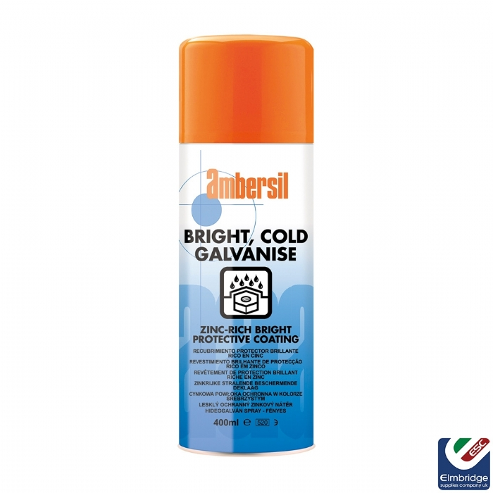 Ambersil Bright Cold Galvanising Spray