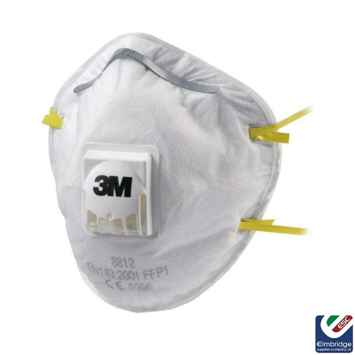 3M 8812 FFP1 Valved Face Mask