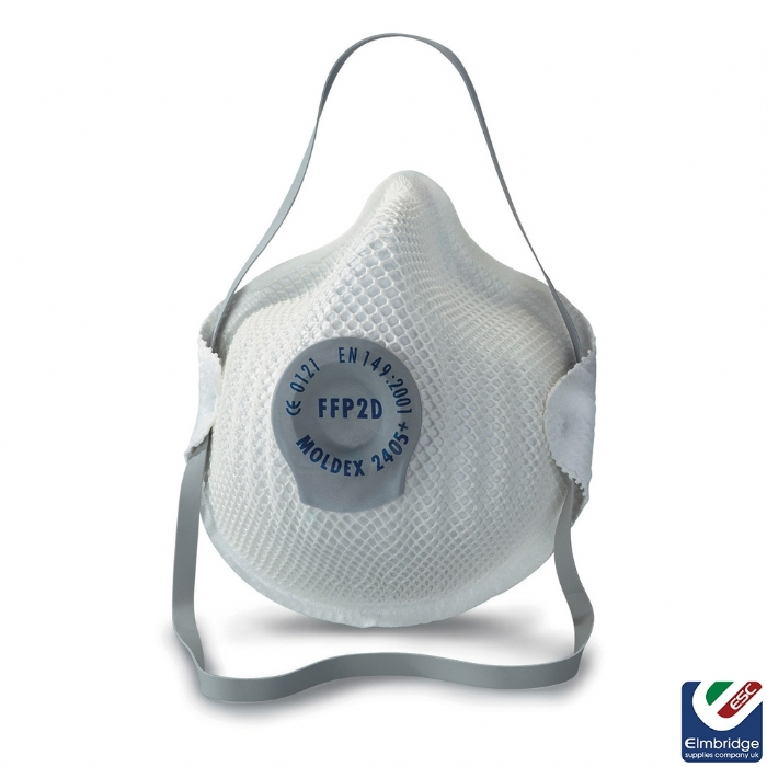 Moldex 2405 FFP2 Valved Face Mask