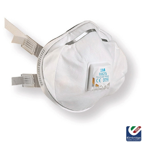 3M™ 8835 FFP3 Valved Disposable Face Mask