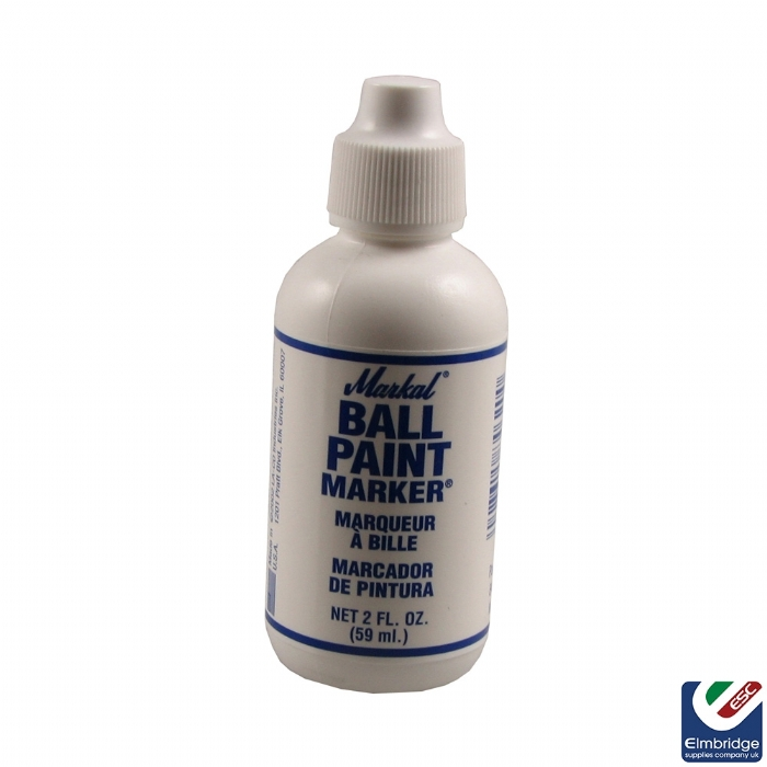 Markal Ball Paint Liquid Markers White