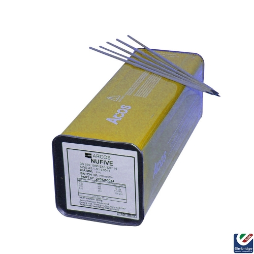 Nufive Pipeline 6011 Electrodes