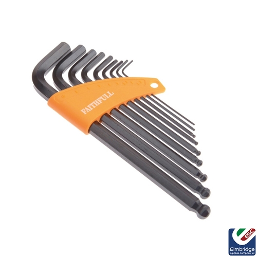 9 Piece Metric Hex Key Set