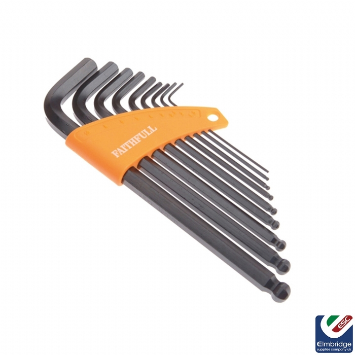 8 Piece Imperial Hex Key Set