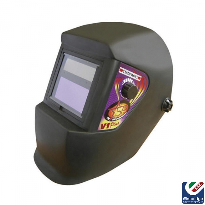 Economy V1-Plus Auto Darkening Welding Helmet FREE FOOTBALL WIH EVERY ORDER