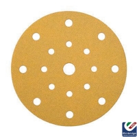 Mirka Gold 125mm 17 Hole Velcro Grip Sanding Discs