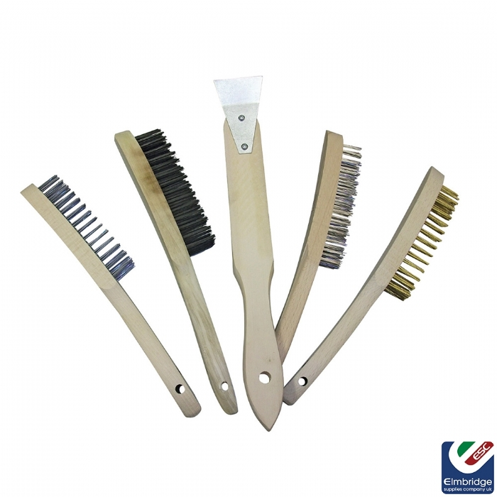 Wire Brush - Stainless Steel