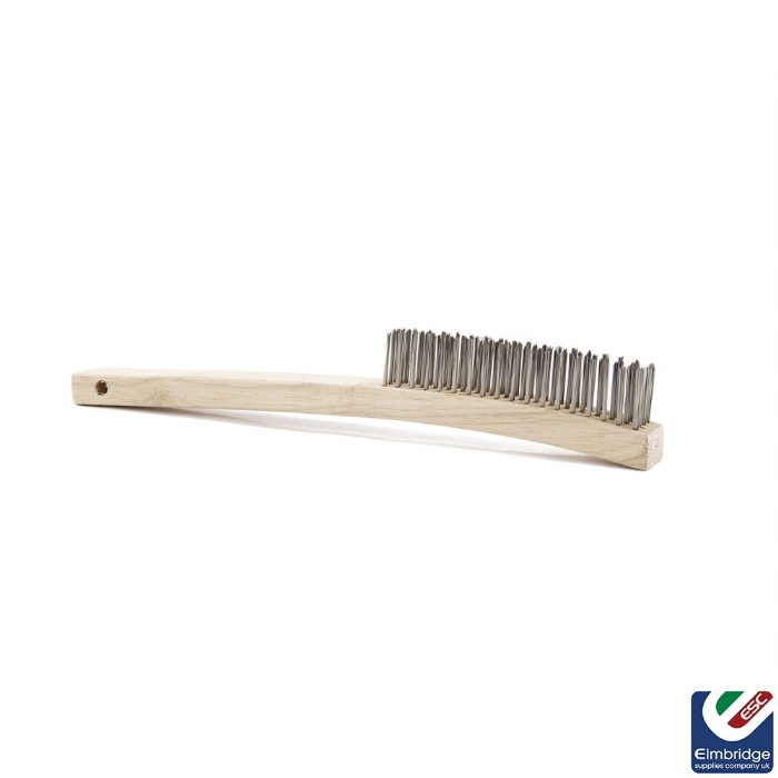 Wire Brush - Mild Steel   4 Row