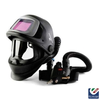 3M Speedglas 9100FX Air Welding Helmet with 3M Versaflo Regulator V-500E